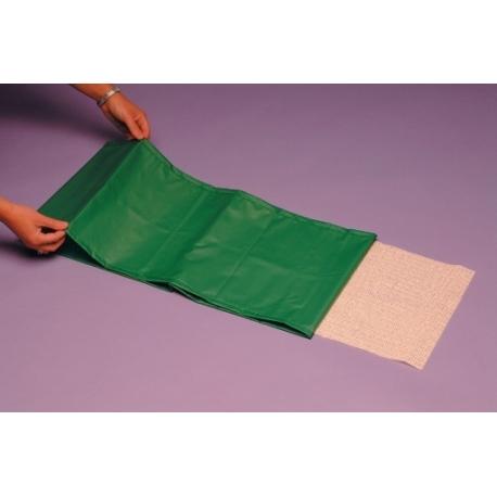 Drap de glisse pour planche de transfert vert
