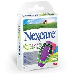 Nexcare™ 360° colors X20 pansements