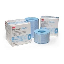Sparadrap Micropore™ Silicone 5m x 2,5cm 1 boite de 6