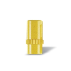 Bouchon obturateur lock jaune site d'injection