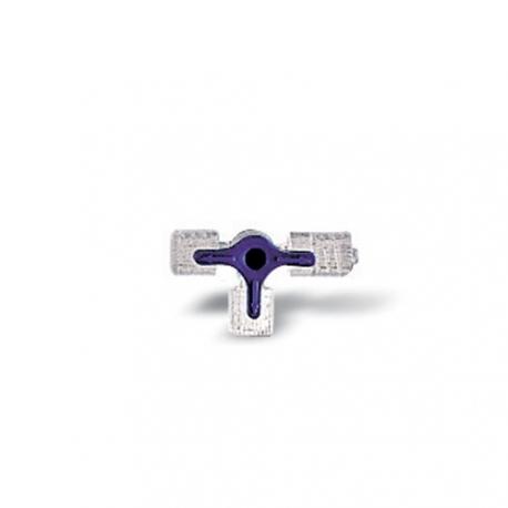 Accessoires de perfusion Discofix® bleu