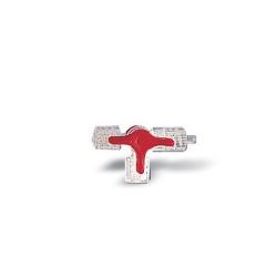 Accessoires de perfusion Discofix® rouge