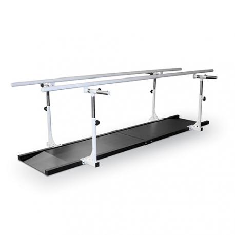 Rampe de marche avec plancher en acier