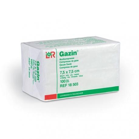 Compresse de gaze Non Stérile 7,5x7,5 cm Gazin®