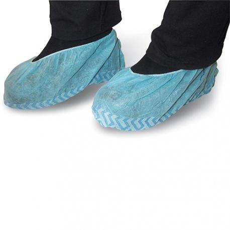 Surchaussures non tissé antidérapantes bleu
