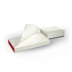 Bloc à spatuler papier glacé 7x8 mm