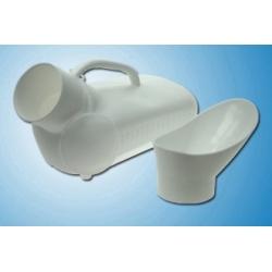 Urinal avec couvercle unisexe